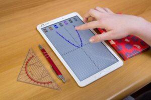 Creator tablet med graf